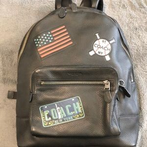 Coach New York leather bag